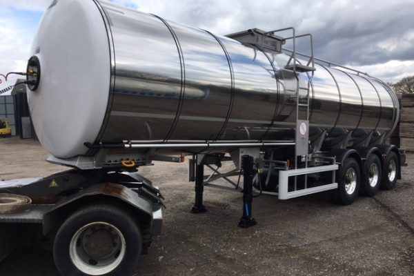 Milk tankers for hire