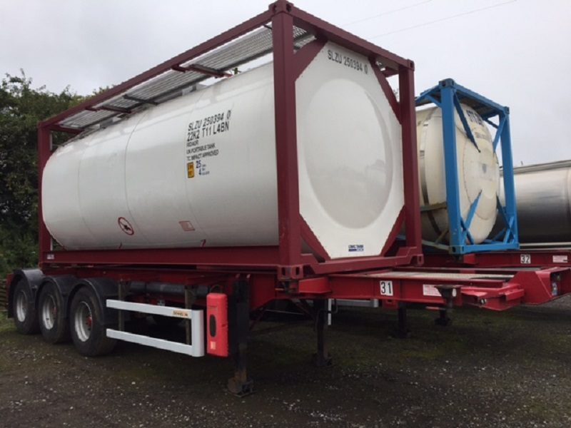 ISO Tank Containers for Hire